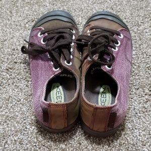Keen Shoes - Keen 7 Coronado Purple Brown Comfort Sneakers